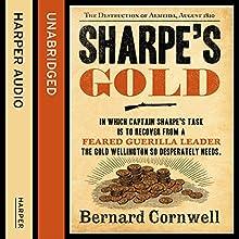 Sharpe's Gold: The Destruction of Almeida, August 1810: The Sharpe Series, Book 9 Audiobook by Bernard Cornwell Narrated by Rupert Farley