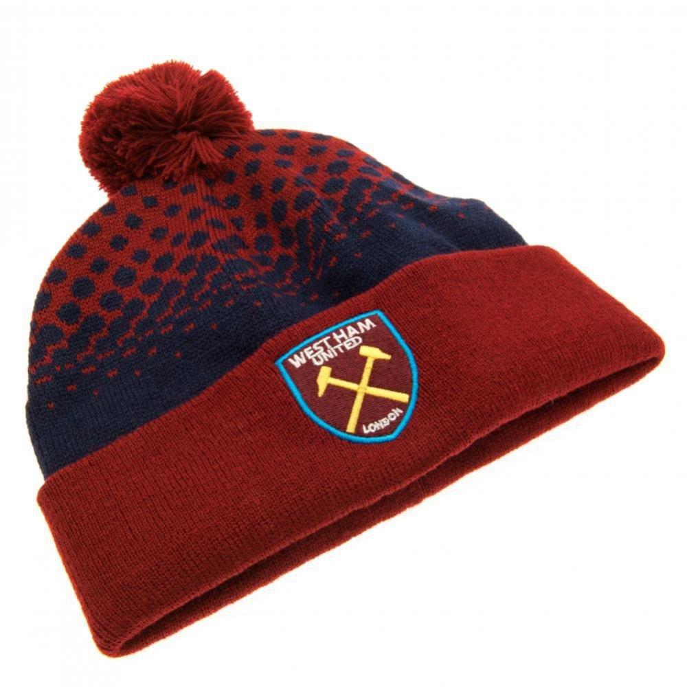 81ee0bc5dd6 Official West Ham United FC Ski Hat TFS-31612
