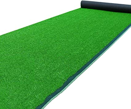 Artificial Grass Turf Lawn With Drainage Holes Fake Grass Mat Thick Synthetic Turf Rug Indoor Outdoor Carpet Garden Lawn Landscape Size 1 3m Amazon Co Uk Kitchen Home