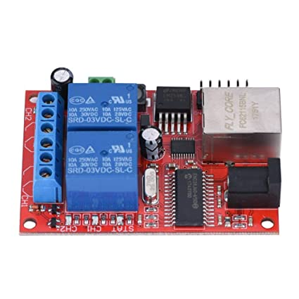 2 Way LAN Ethernet Delay Relay Delay Switch TCP/UDP