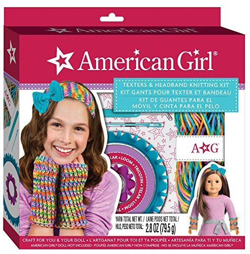 American Girl Texters and Headband Knitting Kit by American Girl