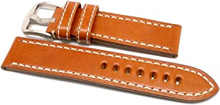 product image for DaLuca OEM Style Leather Watch Strap - Tan : 22mm