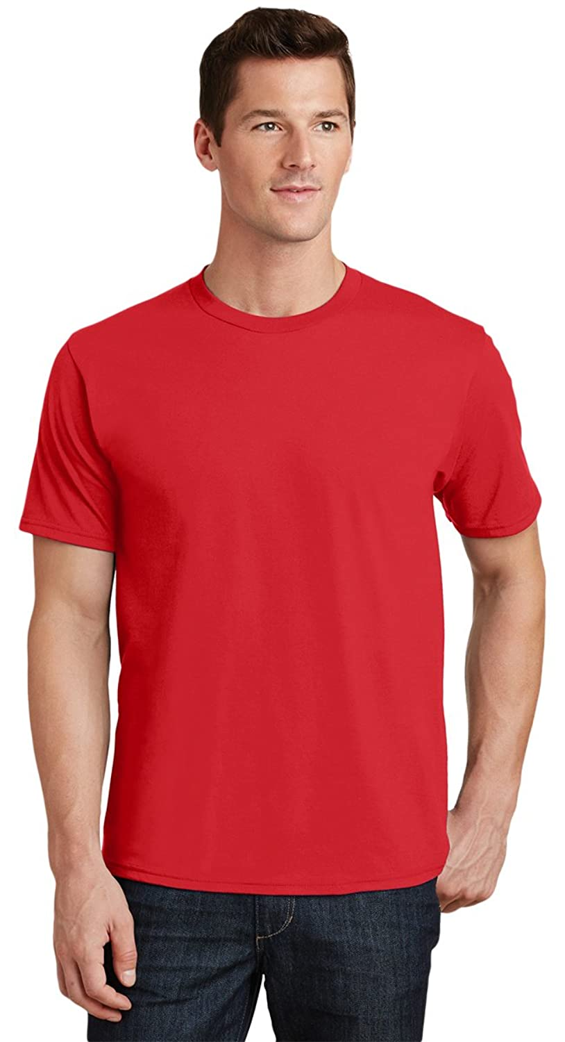 NEW Port & Company Men's Sports T-Shirt_Bright Red_XXXXX-Large