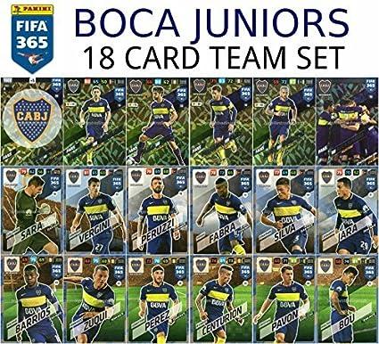 Amazon.com: FIFA 365 2018 BOCA JUNIORS FULL BASE TEAM SET ...