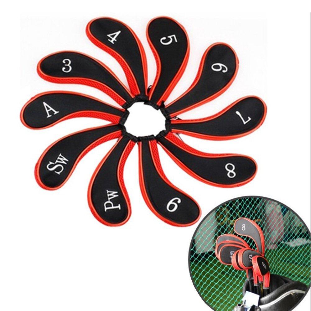 MIFXIN - Juego DE 10 Fundas Protectoras para Palos de Golf ...