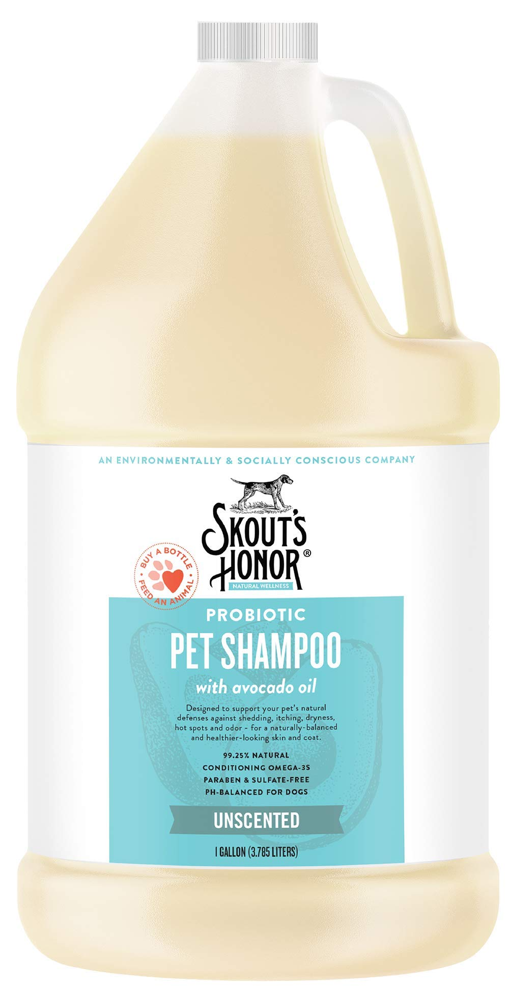 SKOUT'S HONOR Probiotic Shampoo Unscented