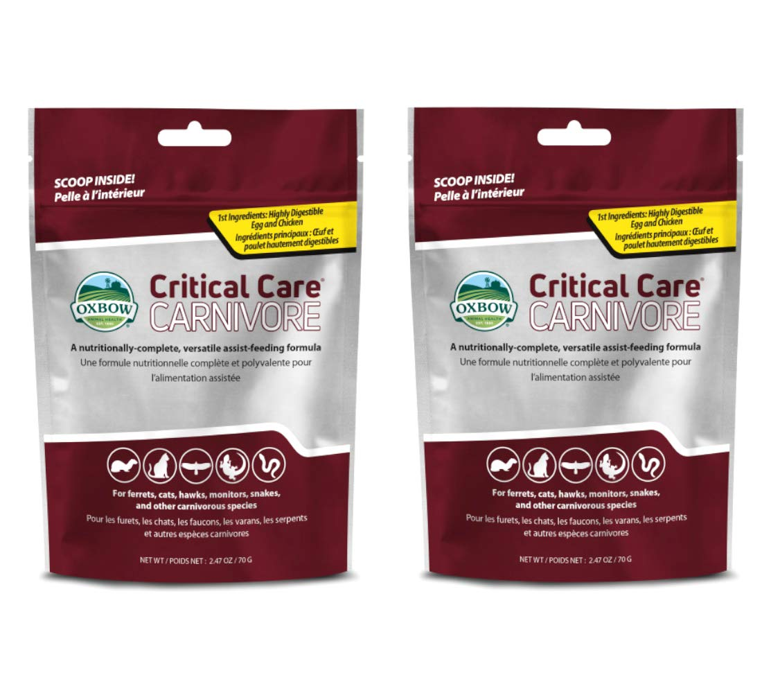 Oxbow Carnivore Care Pet Supplement, 2.5-Ounce [2-Pack]
