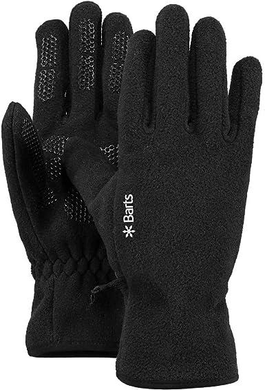 Barts Unisex Fleece Gloves,Black BLACK 0001 ,Large