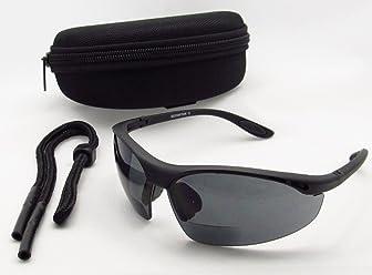 938eb0ea654d Motorcycle Bifocal Readers 3.00 ANSI Z87.1 Safety Lens. Hard Case & Sunglass  String