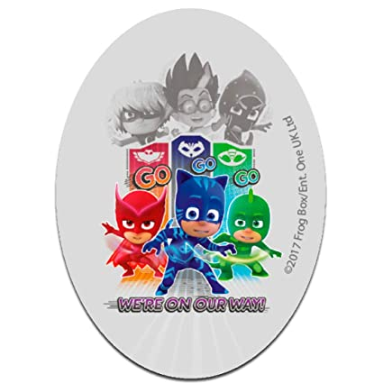 Parches - PJ MASKS Héroes en pijamas WE´RE ON OUR WAY 2 Disney -