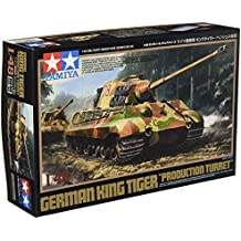 "German King Tiger ""Production Turret"" 1/48 Military Miniature Series No.36"