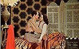 Hollywood Wax Museum Hedy Lamarr Robert Taylor standard Postcard M4630 offers