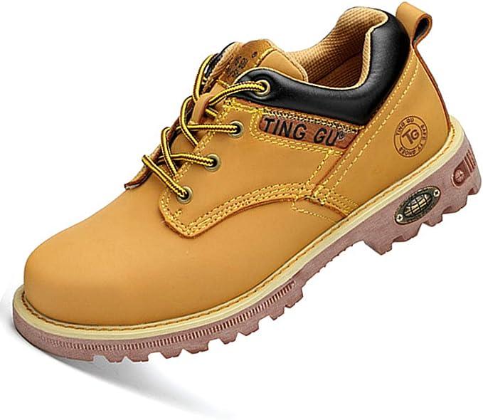 Dxyap Botas de Seguridad S3 Calzado de Protección para Hombre Calzado de Trabajo: Amazon.es: Zapatos y complementos