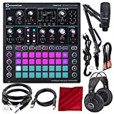 Novation Circuit Mono Station Paraphonic Analog Synthesizer and Sequencer with Marantz Professional Pod Pack 1 USB Microphone Broadcast Kit and Platinum Accessory Bundle