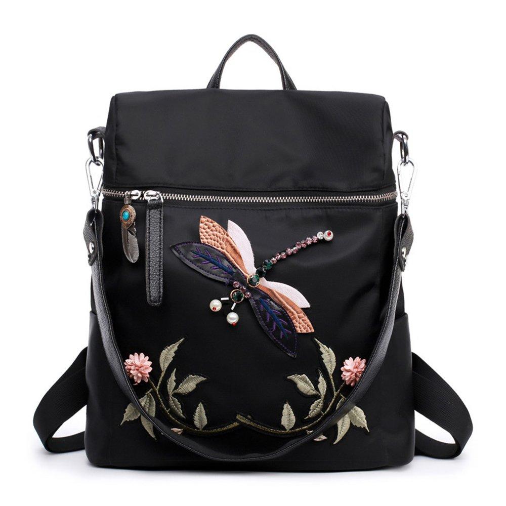 IBFUN Fashion Casual Backpack Dayback Backpack for Women Black