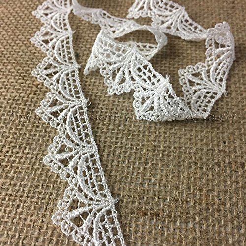 Ivory Lace Trim - 3