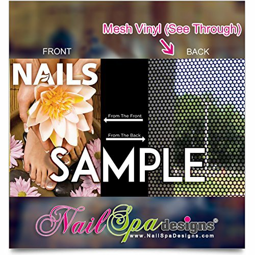 Global Printing Services Nail Salon Poster - Manicure Pedicure Spa  Beautiful Dip Powder Odor MMA Free Long-Lasting Nails Poster || NSD-651  (18in x
