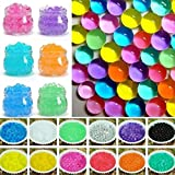 1000Pcs 1.5-3mm Mix Color Magic Mud Crystal Soil Water Beads Pearl Growing Jelly Balls Party Events Home Garden Decor Children Toys