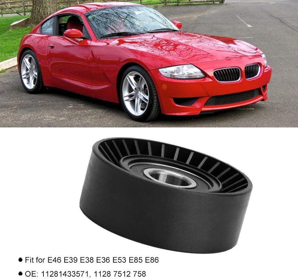 Akozon Car Belt Tensioner Pulley 11281433571 Fit for E36 E46 E34 E39 E60 E61 E38 E65 E66 E83