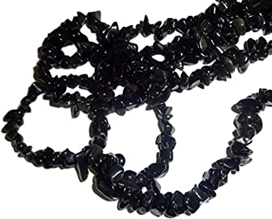 Black Obsidian Crystal Chip Necklace PROTECTION