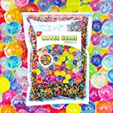 Meland Water Beads - 43,000 Orbeez Beads for Orbeez Spa Refill, Vase Filler, Sensory Toys & Colorful Décor