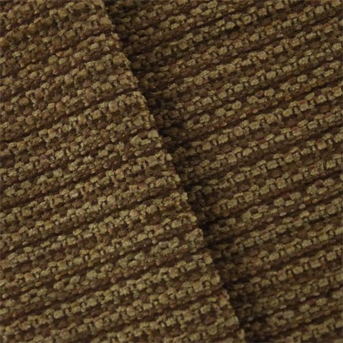 Cognac Brown Valdese Ranch Chenille Decorating Fabric, Fabric by The Yard