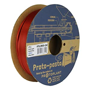 Proto-pasta Candy Apple Metallic Red HTPLA, 2.85mm 500g