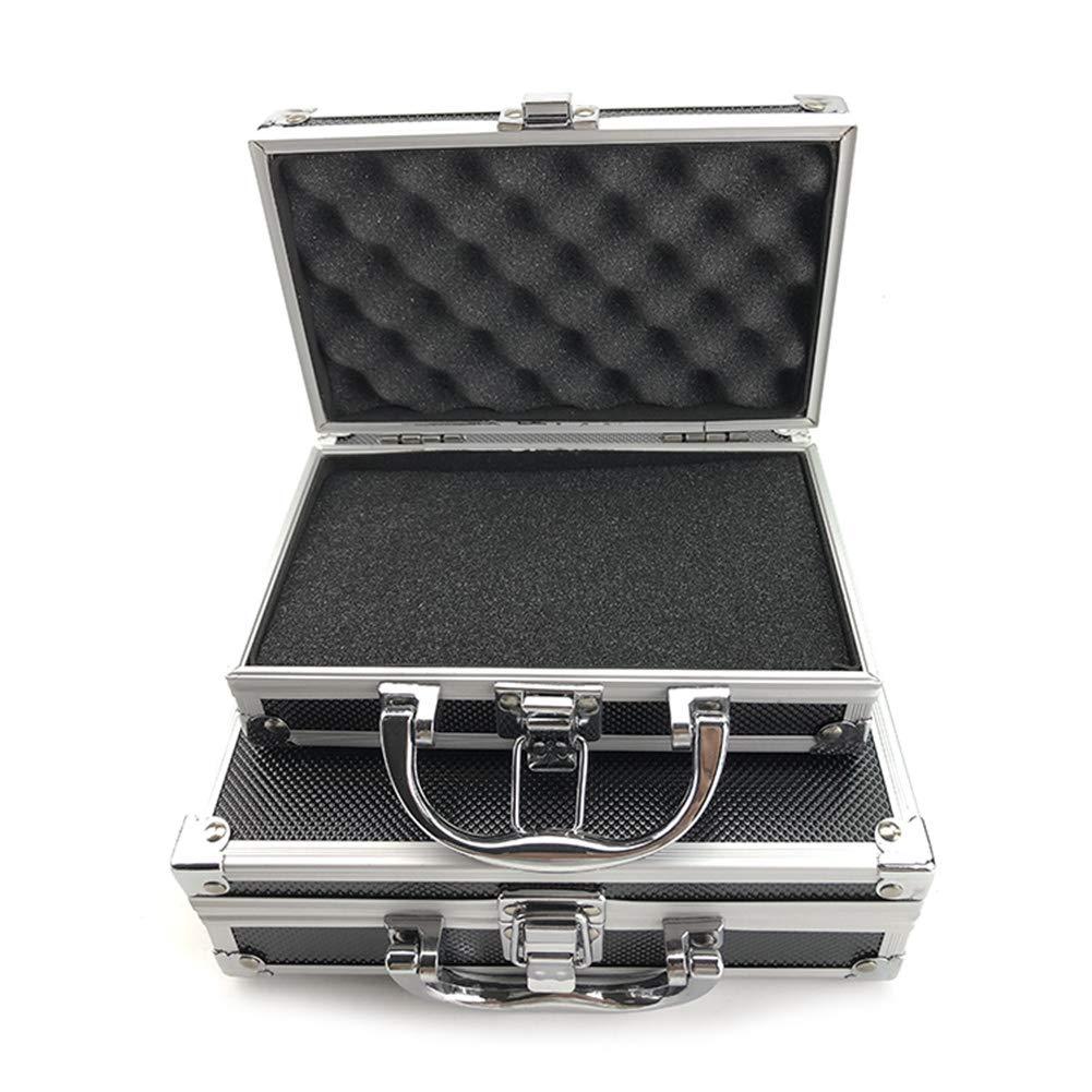 SDGDFXCHN Mini caja de herramientas de aluminio Flight Case ...