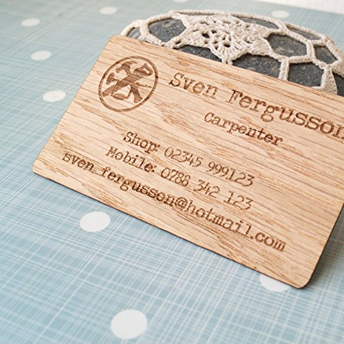 Amazon business cards set of 50 veneer business cards laser amazon business cards set of 50 veneer business cards laser engraved wooden veneer cards company logo business cards unique wooden calling card colourmoves