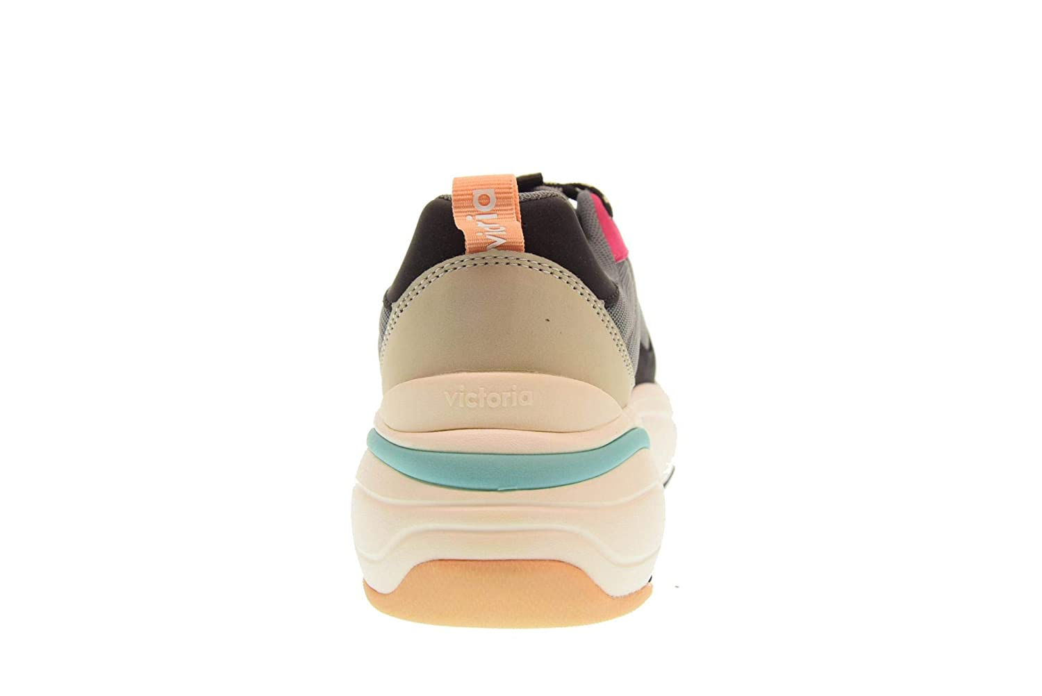 Amazon.com | Victoria Shoes Woman Low Sneakers 147102 Multi | Fashion Sneakers