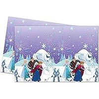 Procos Frozen Snowflakes - Mantel de plástico (120