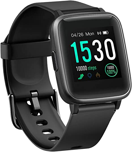 BUDAOLIU Updated Version Smart Watch for Android and iOS Phone,Activity Fitness Tracker with Heart Rate Monitor Pedometer Sleep Tracker,Waterproof ...