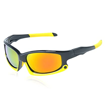 008d6c9fc975 Amazon.com  Polarized Cycling Glasses - EDTara 9 Layer Coating Men Sunglasses  MTB Bike Bicycle Eyewear Anti-UV Protection Goggles for Cycling  Sports    ...