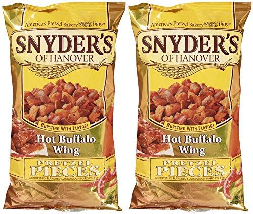 (Snyder's of Hanover Pretzel Pieces - Hot Buffalo Wing - 12 oz - 2 pk)