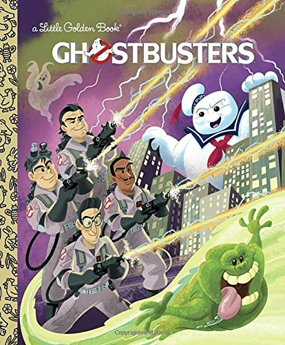 Ghostbusters (Ghostbusters) (Little Golden Book) (Halloween Stories For Little Children)