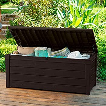 Pool Deck Storage Box and Bench is 2 in 1 Multifunctional Patio Seat Resin UV Protected & Amazon.com : Pool Deck Storage Box and Bench is 2 in 1 ... Aboutintivar.Com