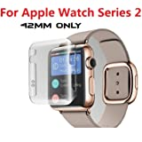 TASLAR 2 in 1 Hard PC Case Cover Screen Guard Protector For Apple Watch Series 2 - 42MM