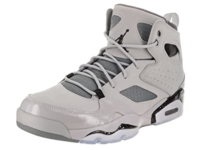 627fb5d214f86e Image Unavailable. Image not available for. Color  Jordan Nike Men s FLTCLB   91 Basketball Shoe 10.5 Grey