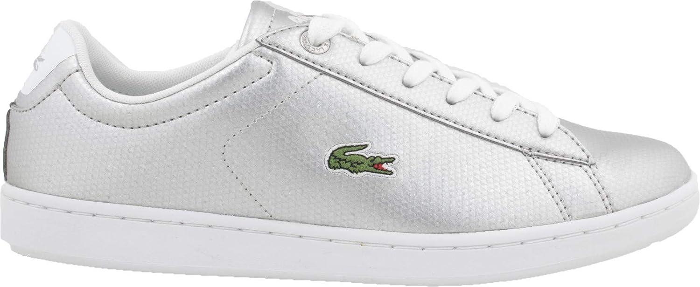 Lacoste Carnaby EVO 119 6 Silber 37SUJ0002 silberner Schuh für Frauen 39