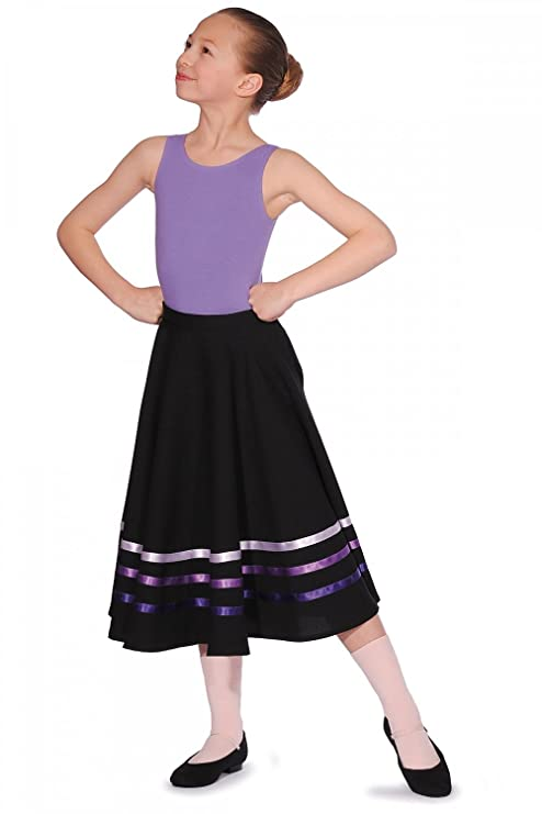 Roch Valley Character Falda polialgodón con Cintas de Colores ...