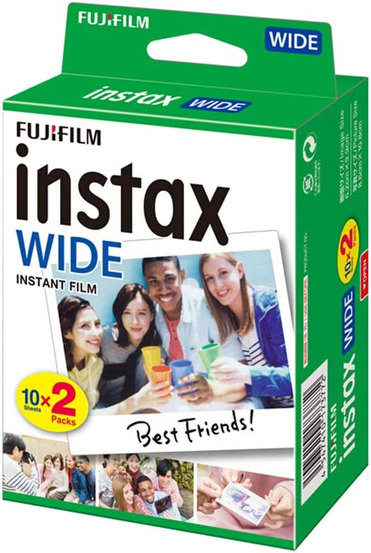 Fujifilm Instax WIDE Camera Instant Film Photo Paper for Fujifilm Instax WIDE300, 20 Sheets
