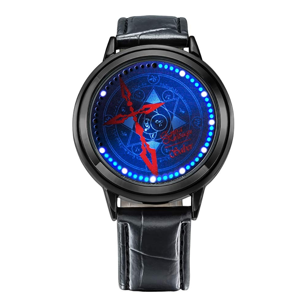 Wildforlife Anime Fate/stay night UBW Emiya Shirou Saber Command Seal Collector's Edition LED Watch by Wild for Life