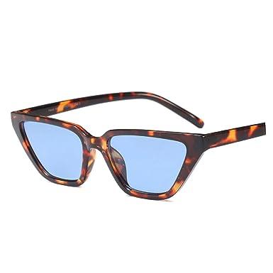 55bf717eee Amazon.com  Barry-Story Flat Top Cat Eye Sunglasses Women Luxury Sun  Glasses Ladies Fashion Small Size Sunglass Retro Shades for Women