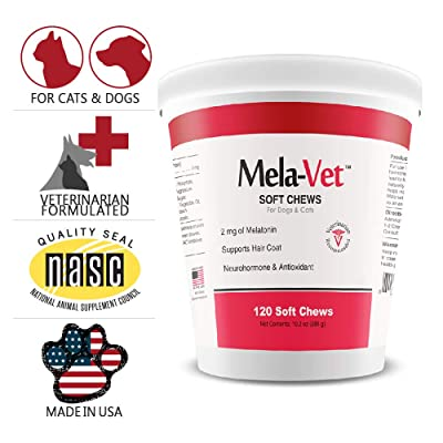 HEALTHY PETS MelaVet Melatonin Soft Chews