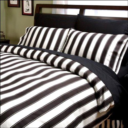 Stripe Comforter Size: King