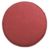 bar stool seat pads - Fabric Chair Seat Student Thickened Round Pad Bar Stool Pad(red)