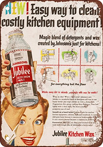 Wall Color 7 X 10 Metal Sign 1953 Johnson Jubilee