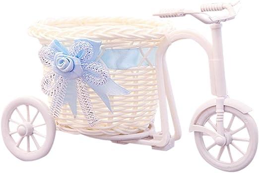 Kineca Diseño de la Bicicleta Canasta de Flores Maceta Florero ...