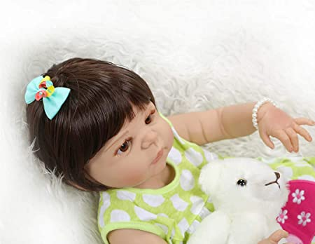 Amazon.com: Aimeedoll - Muñeca de silicona para bebé, 22.0 ...