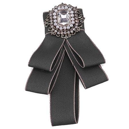 Mujeres Moda Broches, Mujeres de imitación de la perla de cristal ...